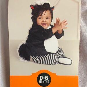 Halloween Infant Skunk Costume Set NWTS